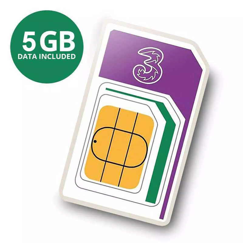 Compare retail prices of 3 PAYG 4G Trio SIM PackAIO15 - 3000 Minutes, 3000 Texts, 5GB Data to get the best deal online