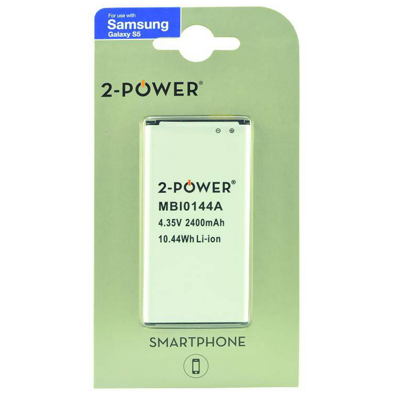 Compare retail prices of 2-Power Samsung Galaxy S5 Replacement Battery to get the best deal online