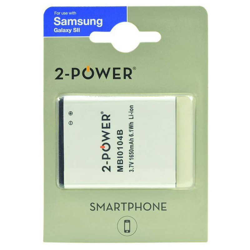 Compare retail prices of 2-Power Samsung Galaxy S II Battery to get the best deal online