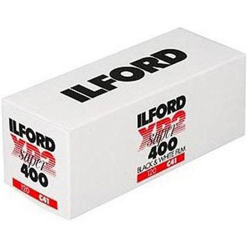 Ilford Black and White XP2 Super 120 Roll Film