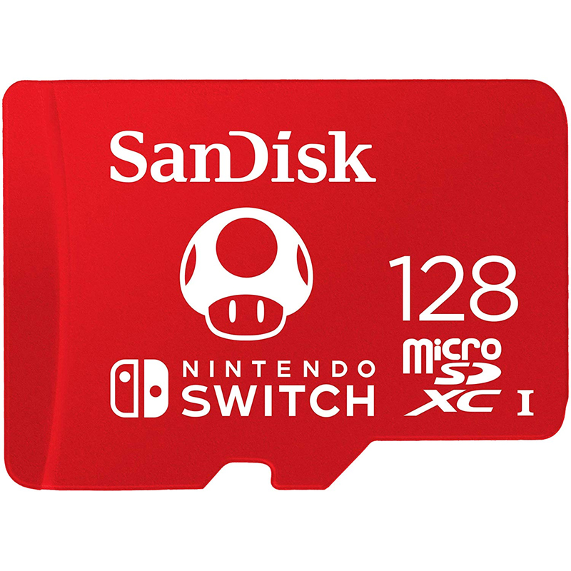 Sandisk 128gb Nintendo Switch Micro Sd Card Sdxc Uhs I U3 100mb S