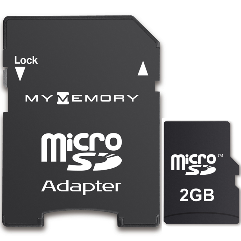 Mymemory 2gb Micro Sd Card Adapter