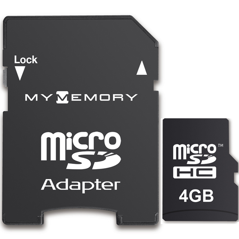 Mymemory 4gb Micro Sd Card Sdhc Adapter