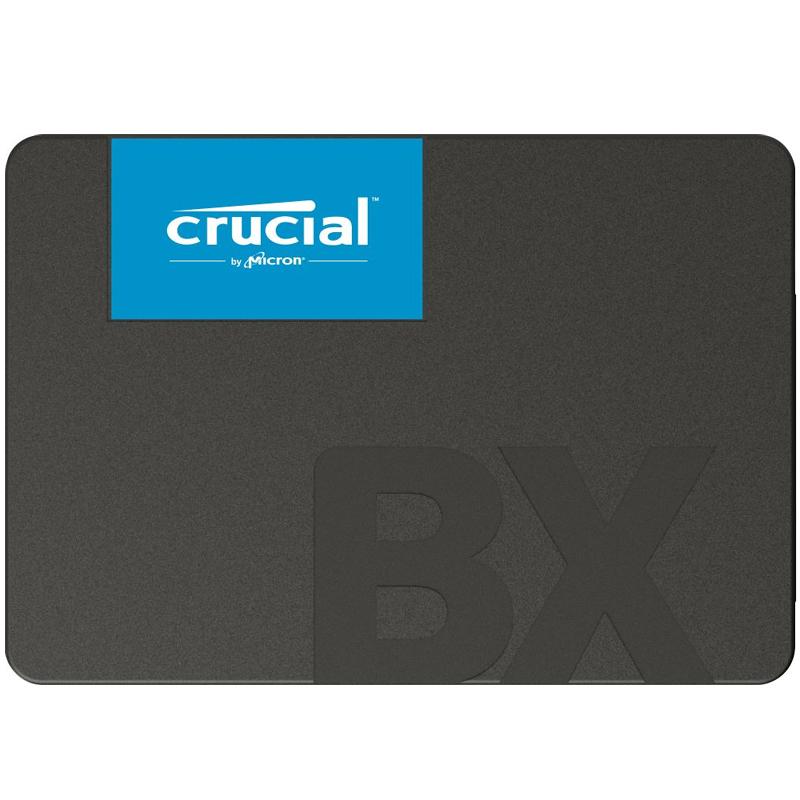 """Crucial 240GB BX500 Internal 2.5"""" SATA SSD Drive - 540MB/s"""
