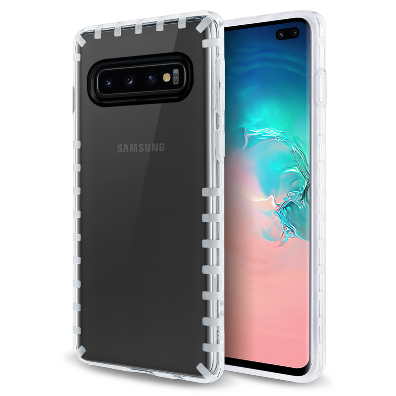 oneo VISION Samsung Galaxy S10 Plus Transparent Case - Clear