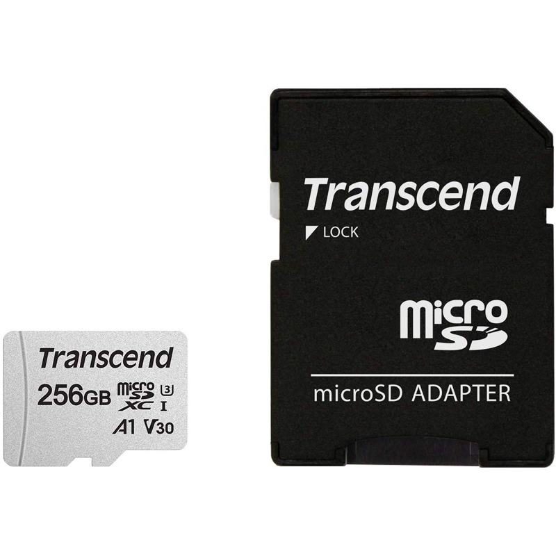 Click to view product details and reviews for Transcend 256gb 300s V30 A1 Micro Sd Card Sdxc Uhs I U3 Adapter 95mb S.
