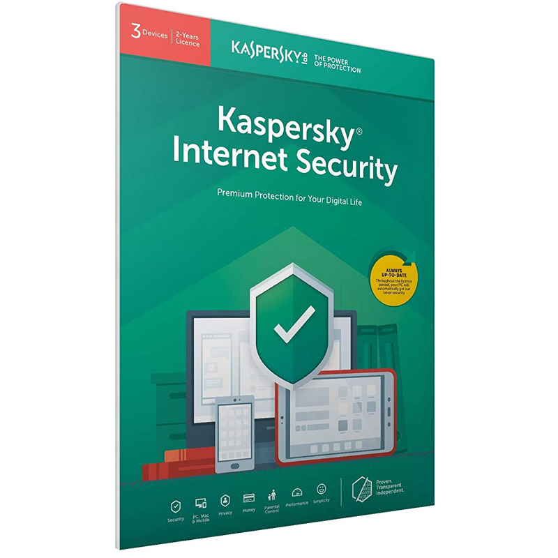 Kaspersky Internet Security 2021 (3 Devices, 2 Year) FFP