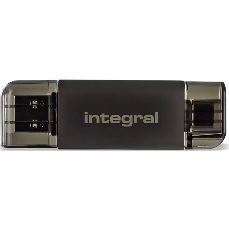 Click to view product details and reviews for Integral Usb 30 Usb C Otg Sd And Micro Sd A2 Card Reader 180mb S.