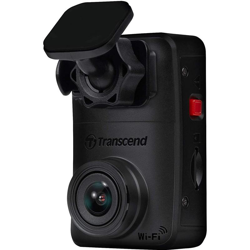 Transcend DrivePro 10 1080p Car Dash Cam + 32GB Micro SDHC Card (Adhesive Mount)