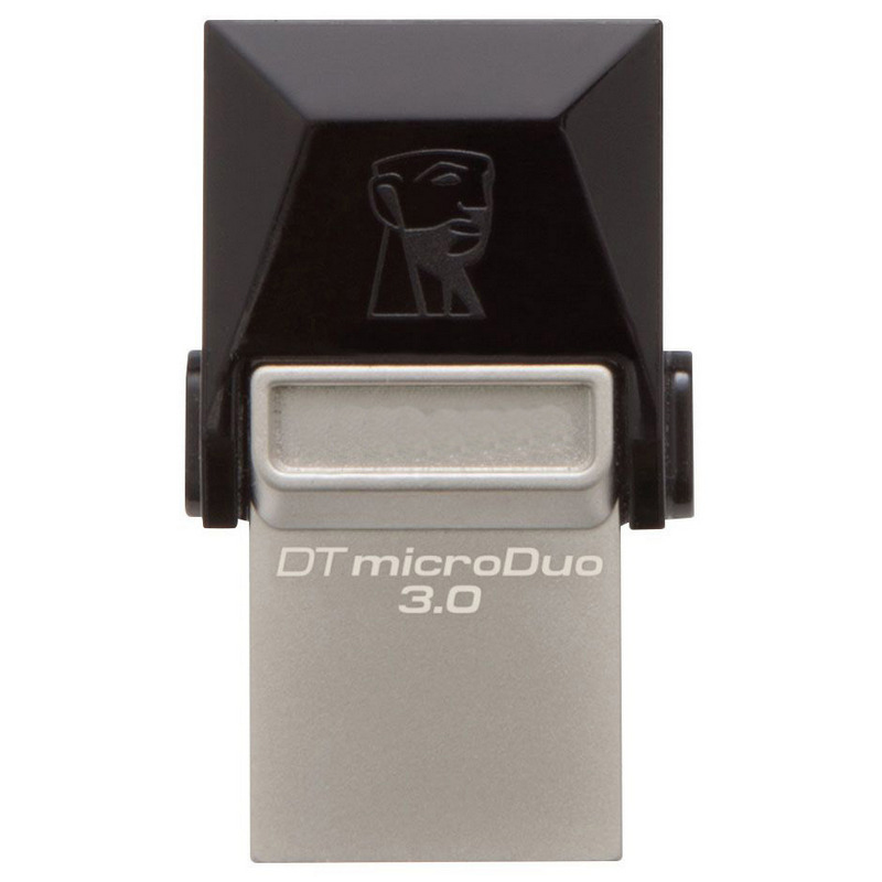 Click to view product details and reviews for Kingston 64gb Datatraveler Micro Duo Otg Usb 30 Micro Usb Flash Drive 70mb S.