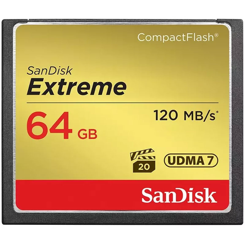 Click to view product details and reviews for Sandisk 64gb Extreme 800x Compact Flash Card 120mb S.