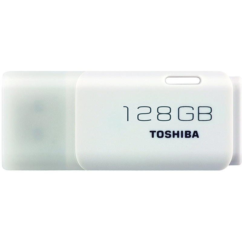 Toshiba 128GB Transmemory U202 USB Flash Drive - White