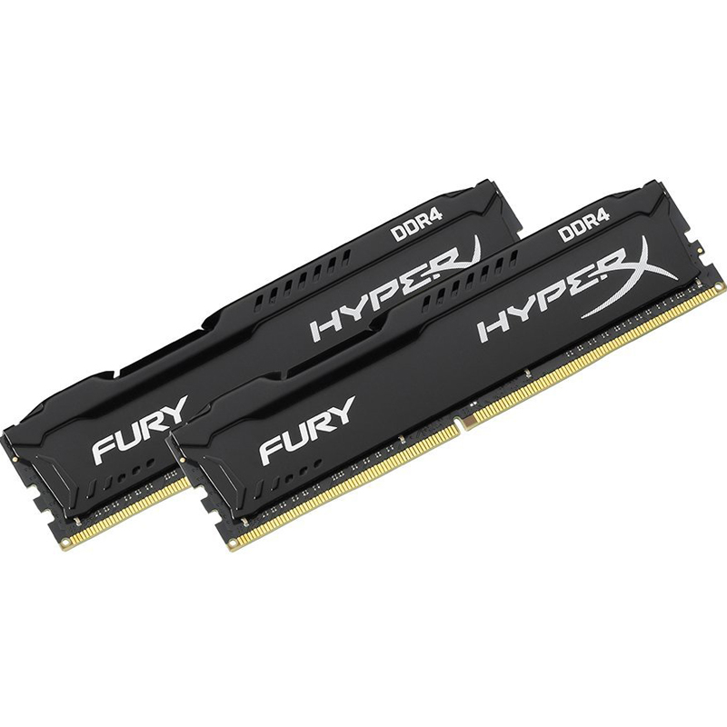 Compare prices for HyperX FURY 16GB 2 x 8GB 2666MHz DDR4 Non-ECC 288 Pin CL16 DIMM PC Memory Module