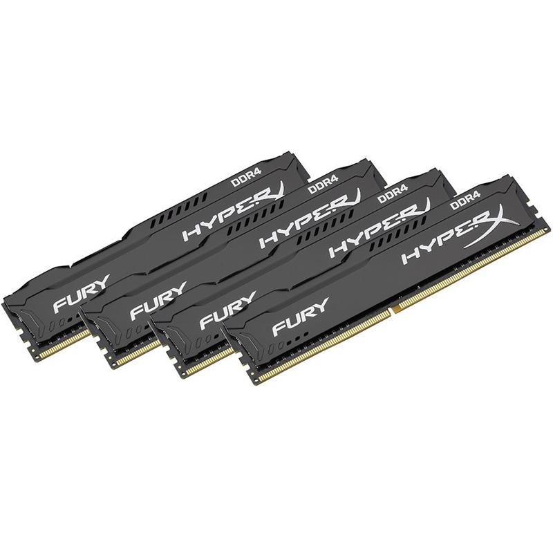 Compare prices for HyperX FURY 32GB 4 x 8GB 2400MHz DDR4 Non-ECC 288 Pin CL15 DIMM PC Memory Module