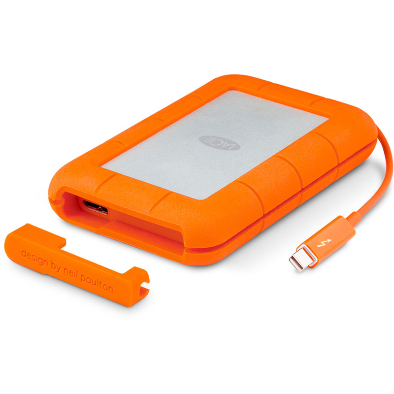 Cheapest price of Lacie Rugged 4 TB -usb 3.0 Thunderbolt in new is £283.99
