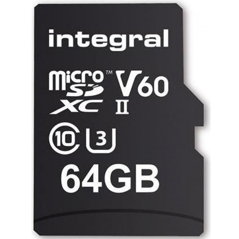Click to view product details and reviews for Integral 64gb Ultimapro X2 Micro Sd Card Sdxc Uhs Ii U3 V60 280mb S.