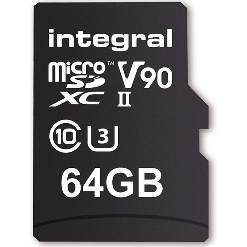 Click to view product details and reviews for Integral 64gb Ultimapro X2 Micro Sd Card Sdxc Uhs Ii U3 V90 280mb S.