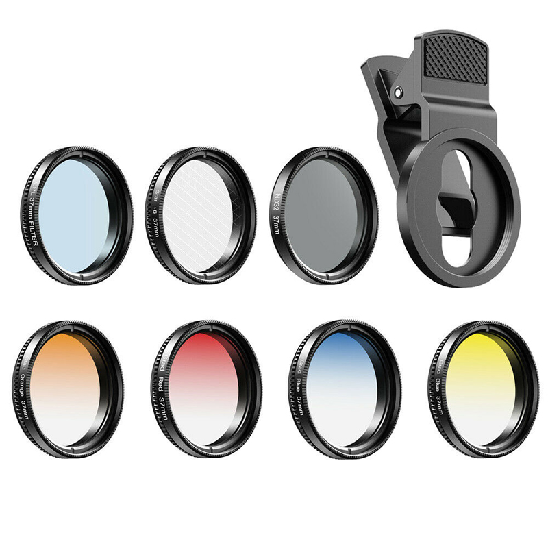 Apexel 7 In 1 Full Colour Filters Kit For Smartphones Camera