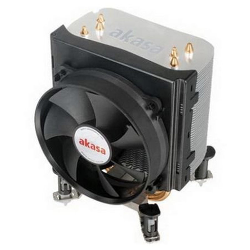 Compare prices for Akasa AK-968 X4 Universal Socket 92mm PWM 2500rpm Low Noise Fan CPU Cooler
