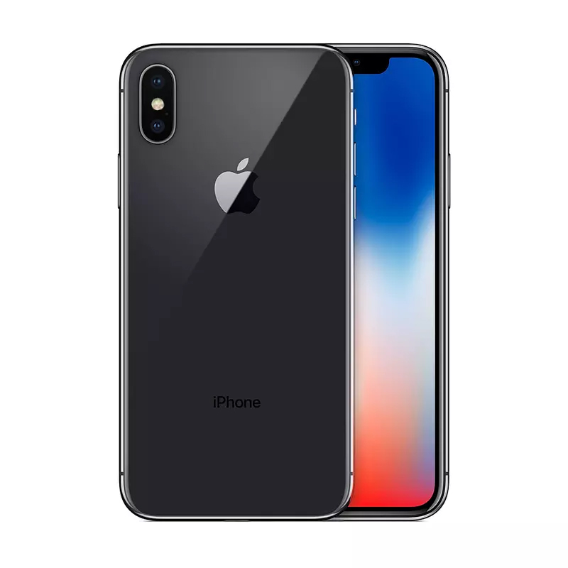 Apple iPhone X 64GB - Space Grey - Unlocked (Refurbished - Grade C)