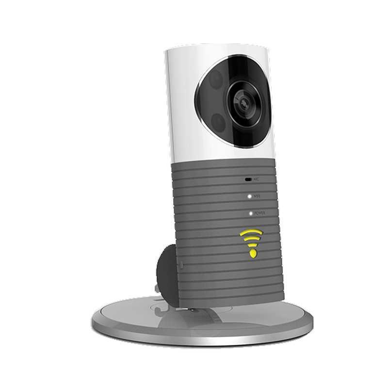 Clever Dog Wireless Smart WiFi Home Security Camera 1080p Upgraded - Grey