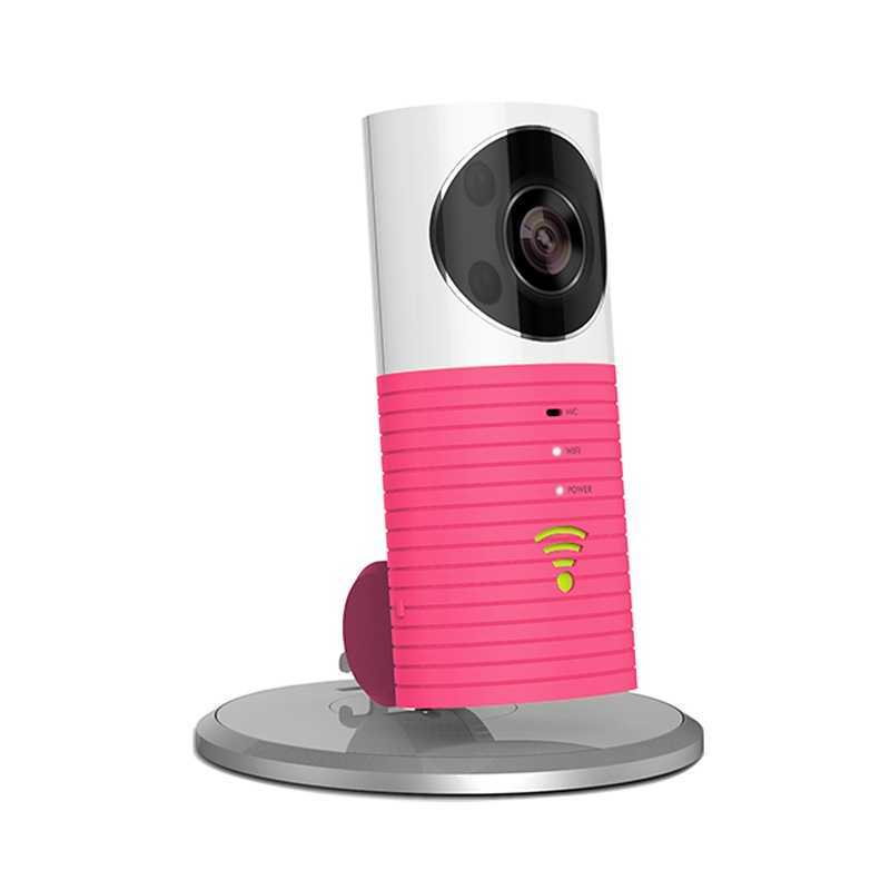 Image For Clever Dog Smart Camera WiFi Monitor - Pink