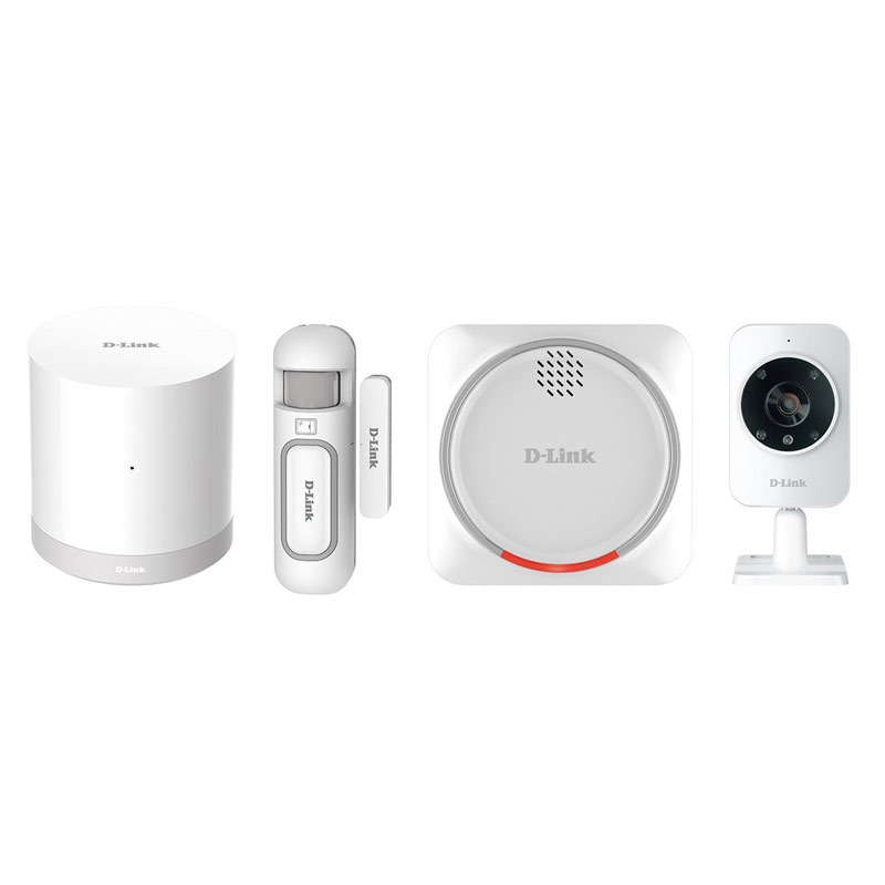 Image For D-Link Smart Home Wireless Security Kit (DCH-107KT) - White