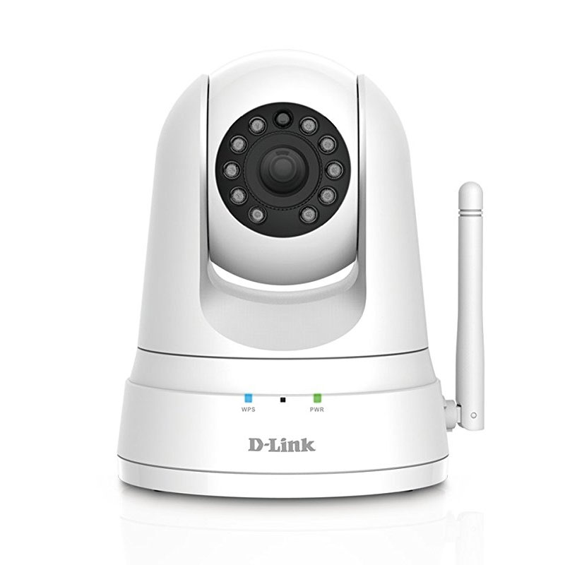Image For D-Link Wireless HD Pan & Tilt Day/Night WiFi Camera (DCS-5030L) - White