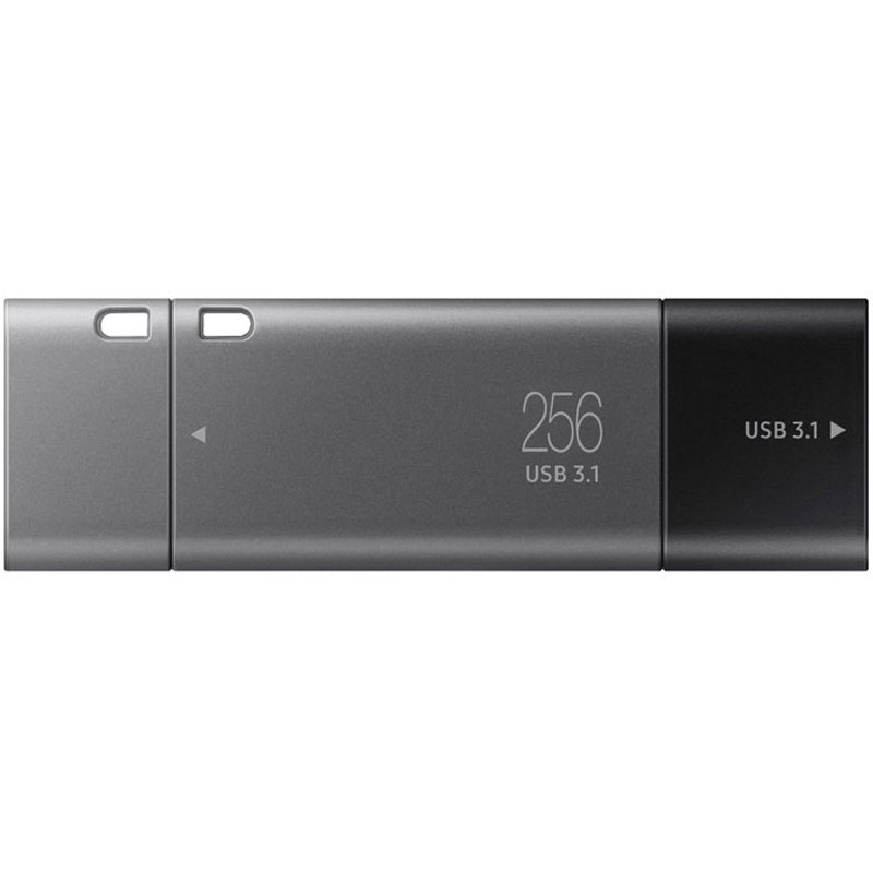 Samsung 256gb Duo Plus Usb C 31 Flash Drive 300mb S