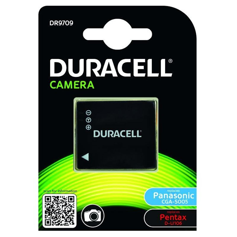 Compare retail prices of Duracell Panasonic CGA-S005 / DMW-BCC12 Camera Battery to get the best deal online