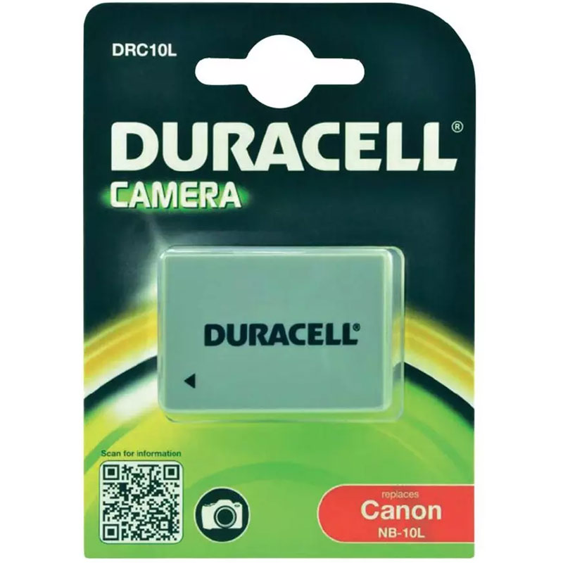 Compare prices for Duracell Canon NB 10L Camera Battery