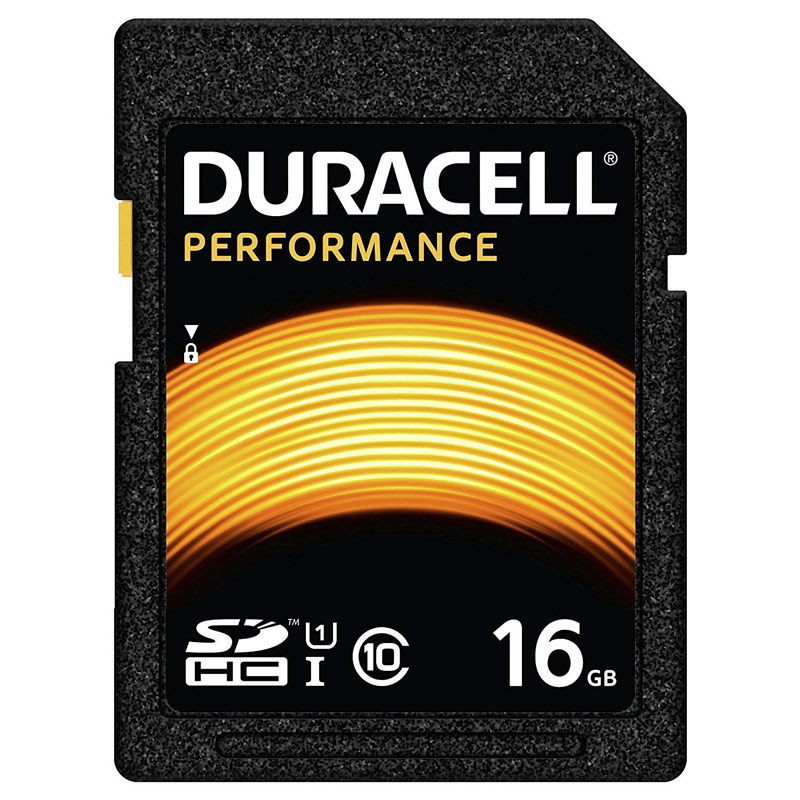 Compare retail prices of Duracell 16GB Performance SD Card SDHC to get the best deal online