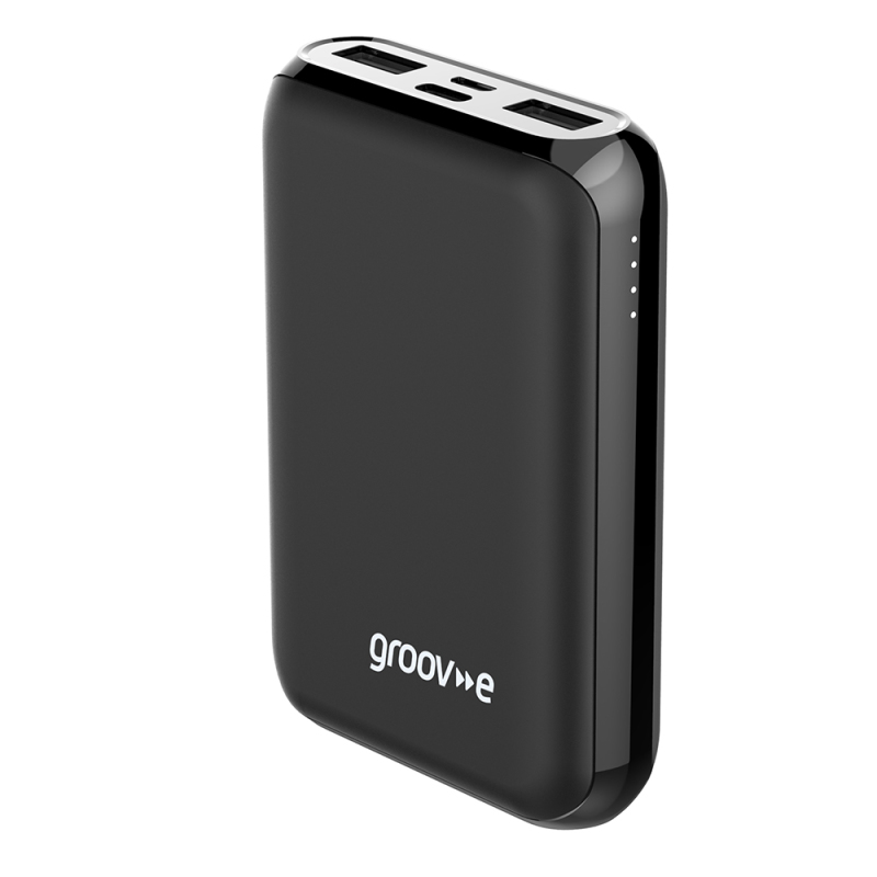Power Supplies/Adapters & Case Coolers Portable Power Charger 10000mAh Powerbank - Black