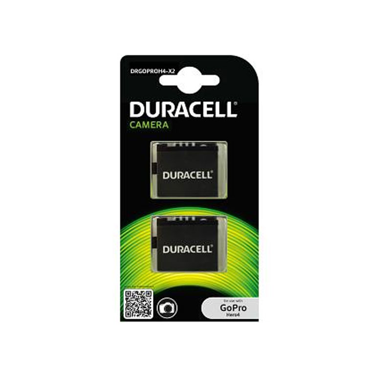 Compare retail prices of Duracell GoPro Hero 4 Battery - 2 Pack to get the best deal online