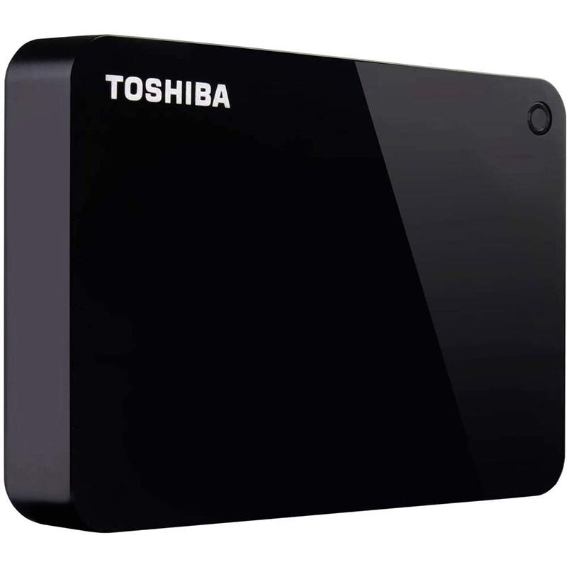 Toshiba 4TB Canvio Advance External USB 3.0 Hard Drive - Black