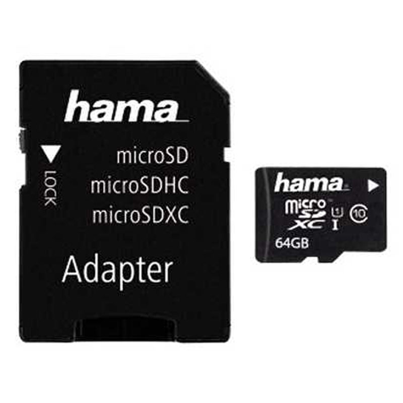 Compare retail prices of Hama 64GB Micro SD Card SDXC + Adapter - 10MB/s to get the best deal online
