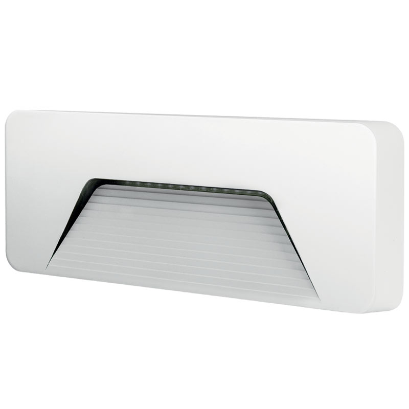 Integral Outdoor PathLux Surface Brick Light 3w (160lm) Warm White - White