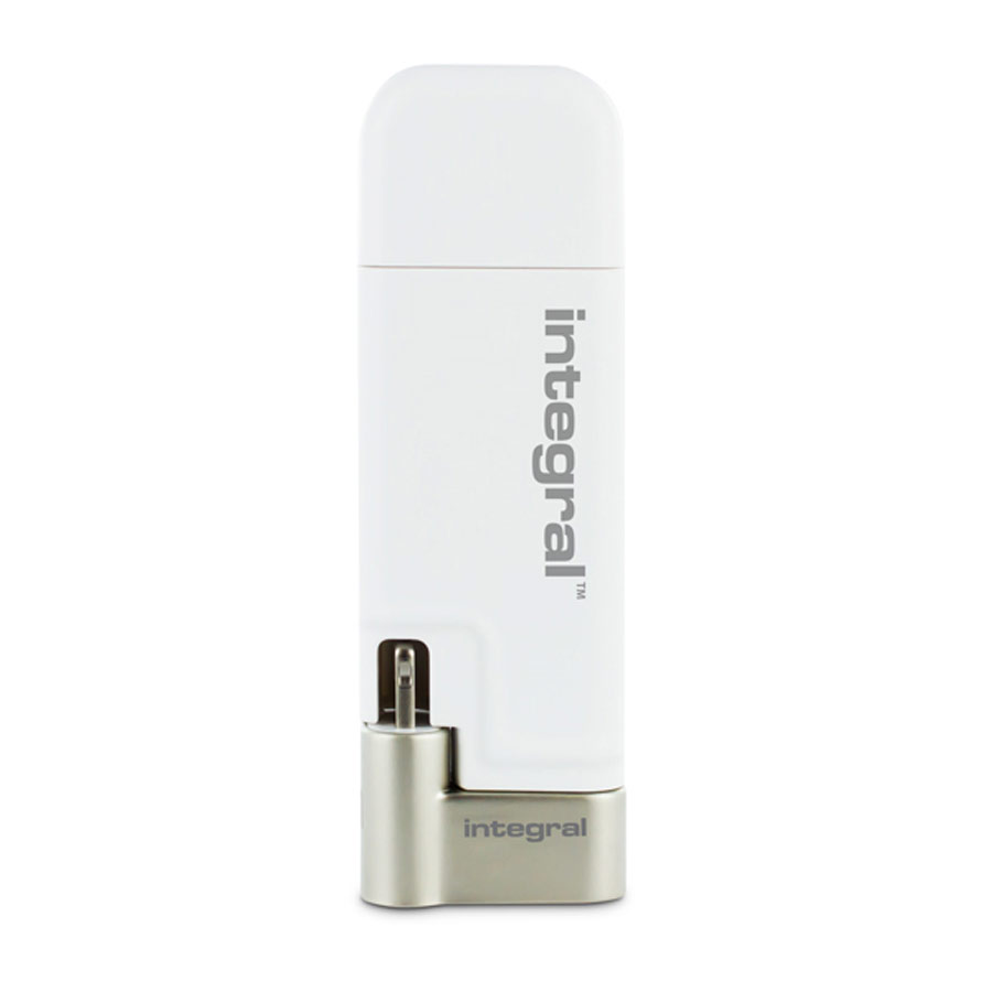 Compare retail prices of Integral 128GB iShuttle iPhone-iPod USB 3.0 Flash Drive to get the best deal online
