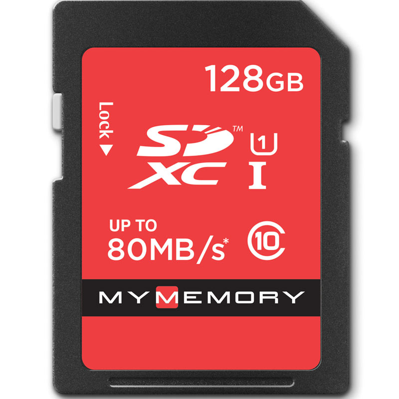 Click to view product details and reviews for Mymemory 128gb Sd Card Sdxc Uhs I U1 80mb S.