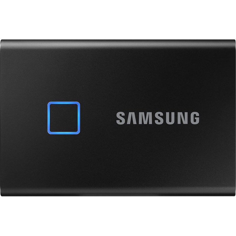 Samsung 1TB T7 USB-C Touch Portable SSD Drive (Black) - 540MB/s