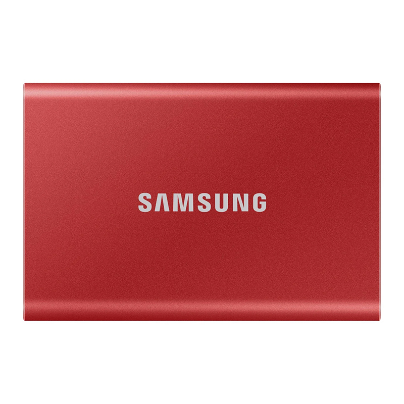 Samsung 1TB T7 USB-C 3.2 G2 Portable SSD Drive (Red) - 540MB/s