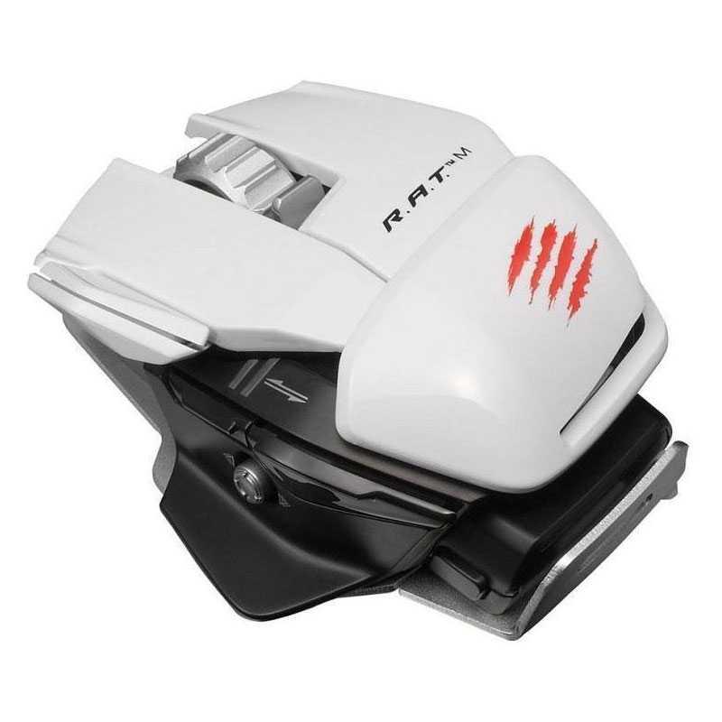 Vorschaubild von MAD CATZ Wireless PC Gaming Maus R.A.T.M - Weiß