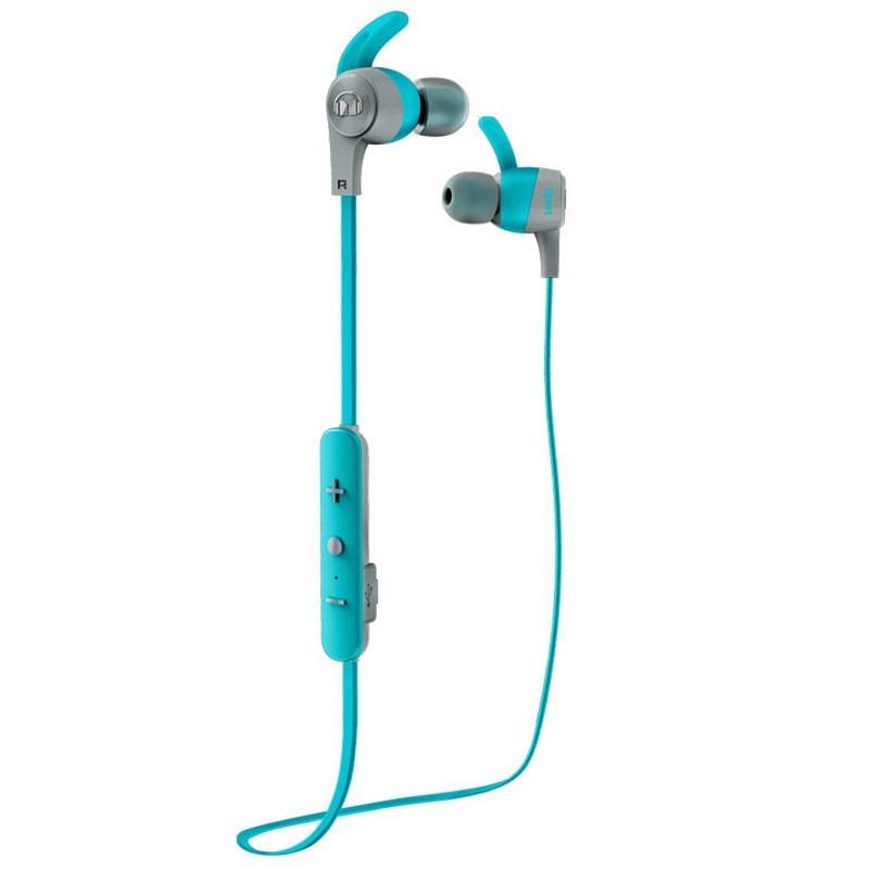 Monster iSport Achieve In-Ear Wireless Bluetooth Headphone - Blue