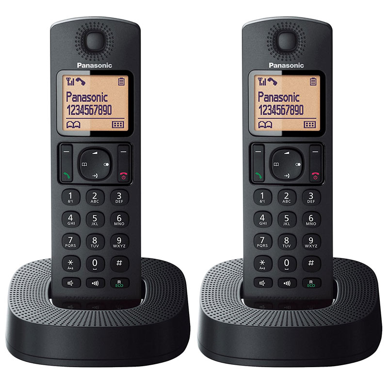 Compare prices for Panasonic Digital Cordless Phones KX-TGC312EB - 2 Pack