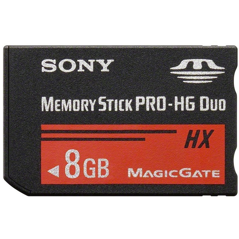 Compare prices for Sony 8GB Memory Stick PRO-HG Duo HX - 30MB/s