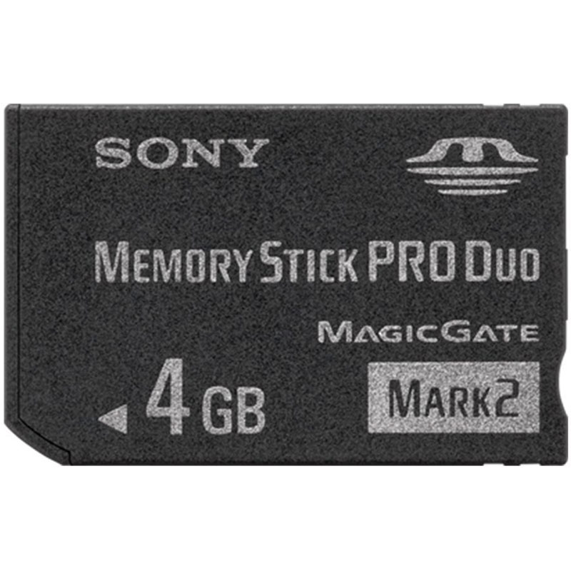 Compare prices for Sony 4GB Memory Stick PRO Duo Card