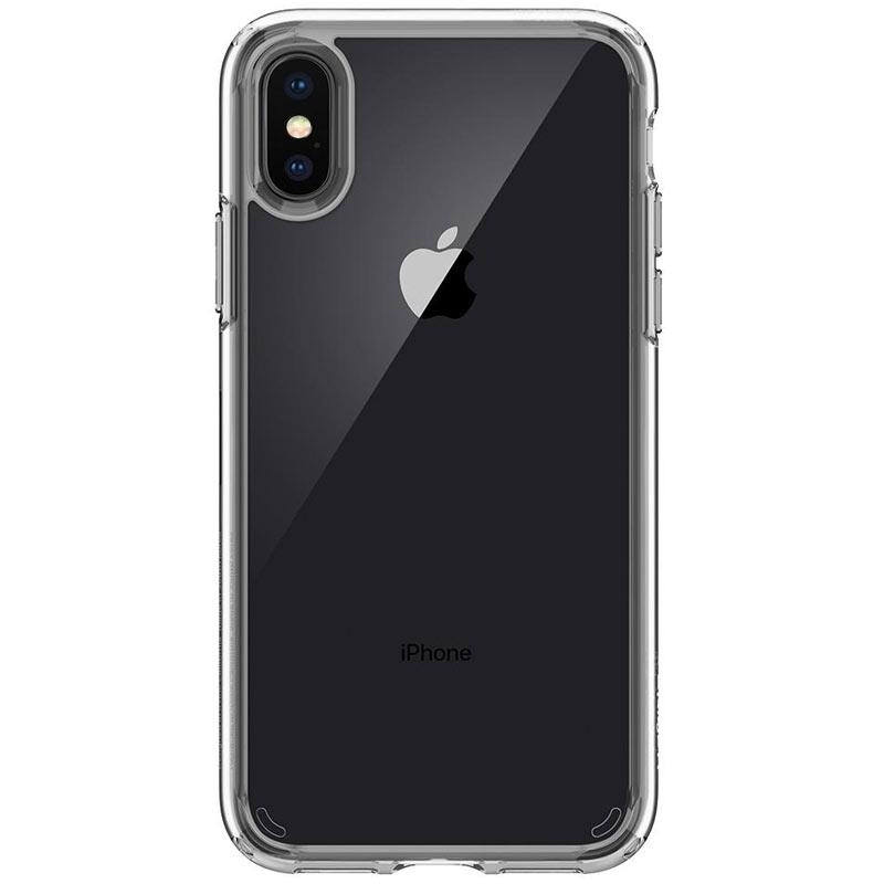Spigen iPhone X Hülle Ultra Hybrid - Crystal Clear