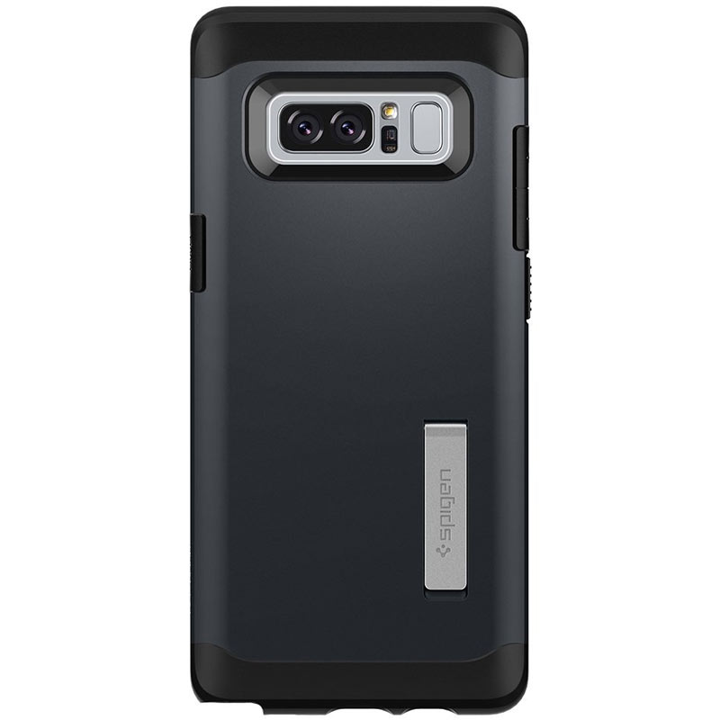 Compare prices for Spigen Samsung Galaxy Note 8 Case Slim Armor - Metal Slate