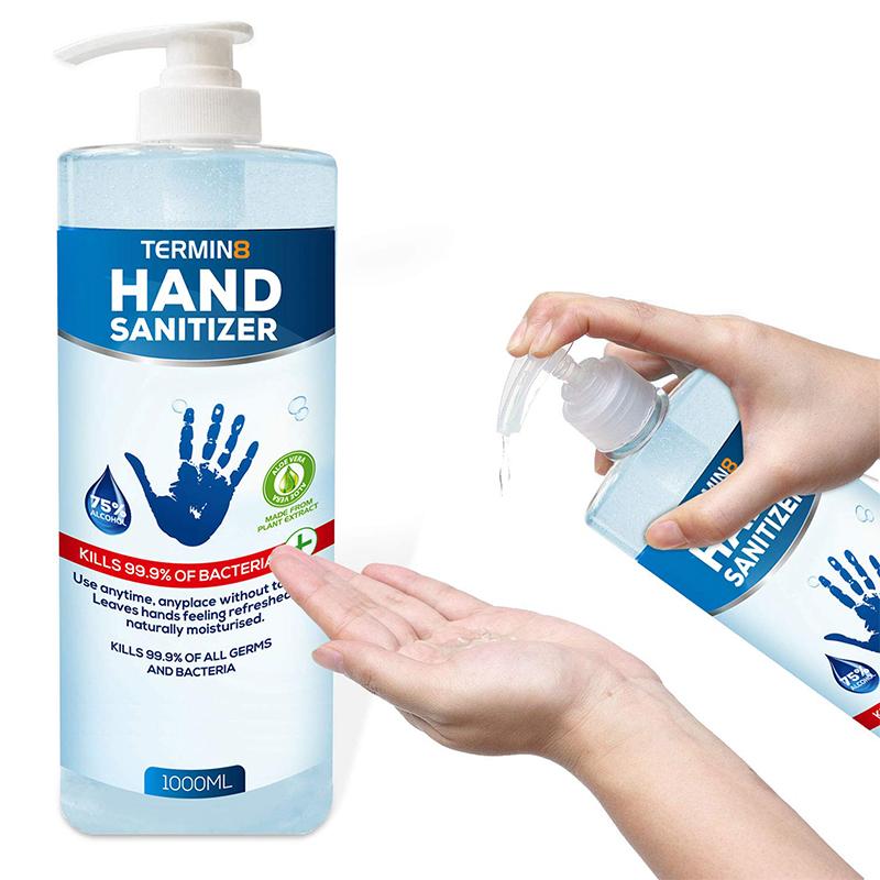 Termin8-19 Hand Sanitiser 75% Alcohol - 1 Litre