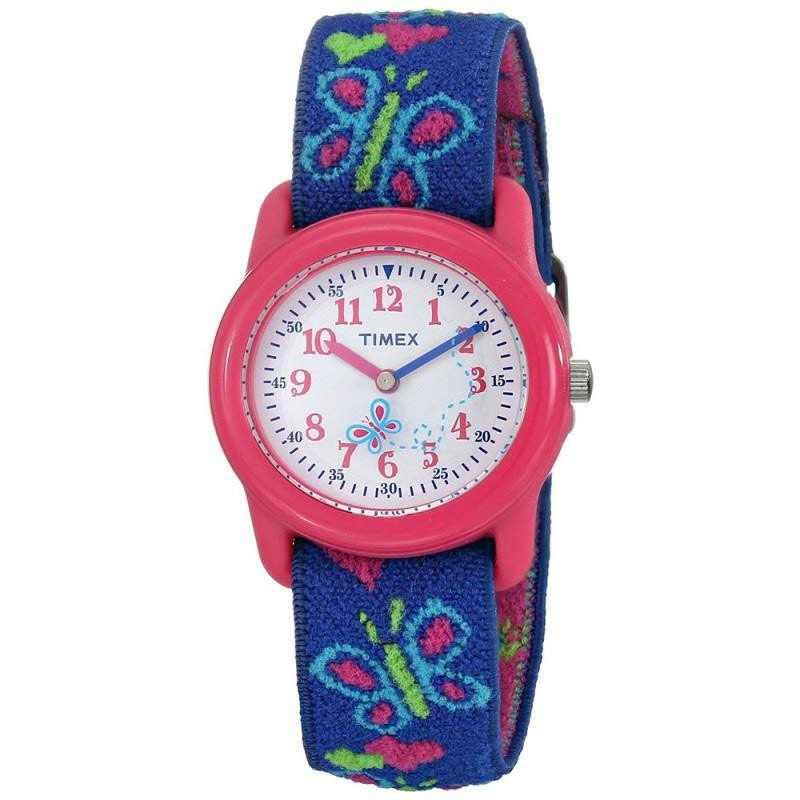 Compare prices for Timex Kids Analogue Time Teacher Watch T89001